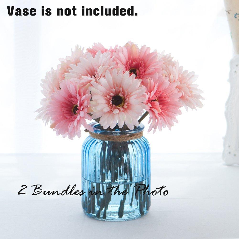 Amazon Gerbera Daisy Artificial Flowers For Home Decor 7 Stems