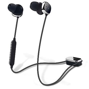 Auriculares Bluetooth con Cancelación de Ruido Activa – August EP725 – Reduce Ruidos Ambientales a Susurros con Cascos In Ear Inalámbricos