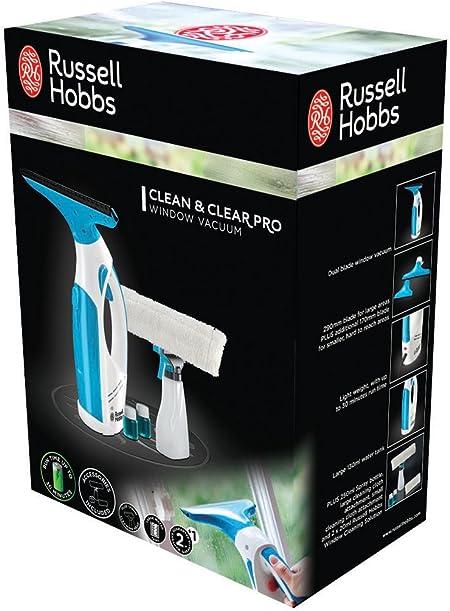 Russell Hobbs 21800-56 Clean & Clear Pro Aspirador para ventanas y ...