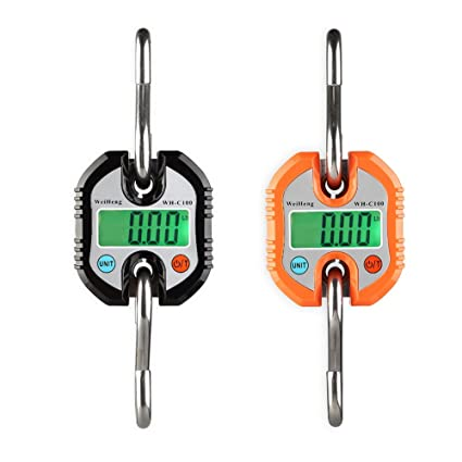 Sue Supply Báscula electrónica portátil para caza, mini báscula digital, sin batería, color
