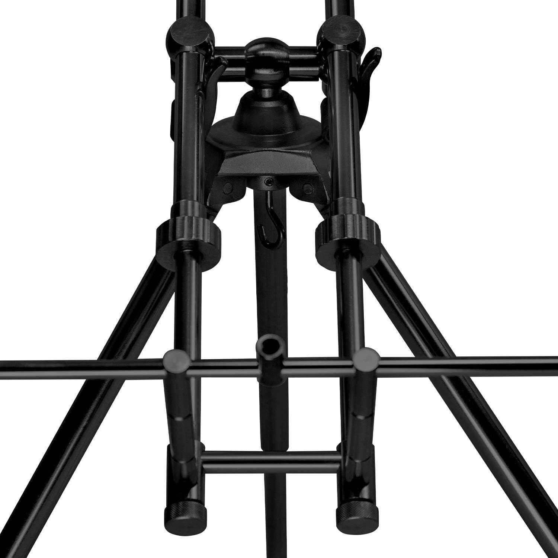 Angeln Rutenauflage f/ür 3 Angelruten Aluminium Rutenhalter Angelhalter inklusive Tragetasche ARAPAIMA FISHING EQUIPMENT Rod Pod Triplecoast