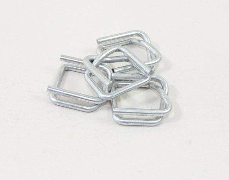 1000X metal Hebillas/Pinzas para fleje/textilumreifungsband/del paquete de banda, 16mm