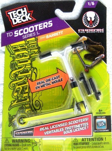 Tech Deck Scooters Series 1 Phoenix Pro Scooters Dan Barrett 1/6 (Scooters Pro Finger)