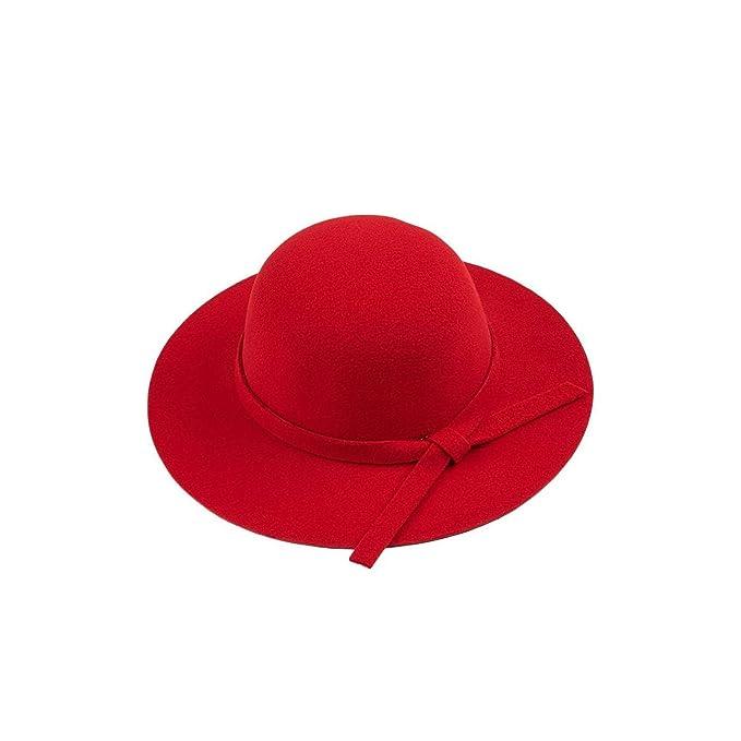 18d46240 Felt Sun Hat Women Vintage Wide Brim Sunbonnet Lady Beach Sunhat UV ...