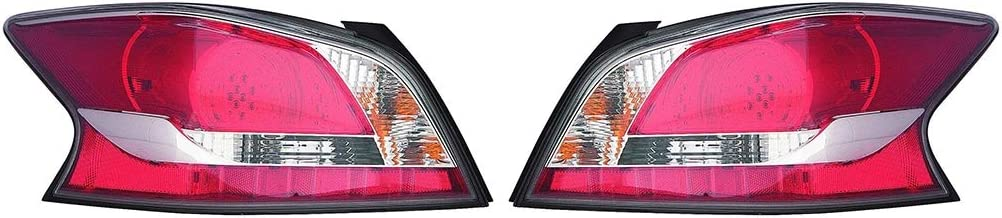 New Passenger Side Tail Lamp Assembly LED Type Fits Nissan Altima NI2801204