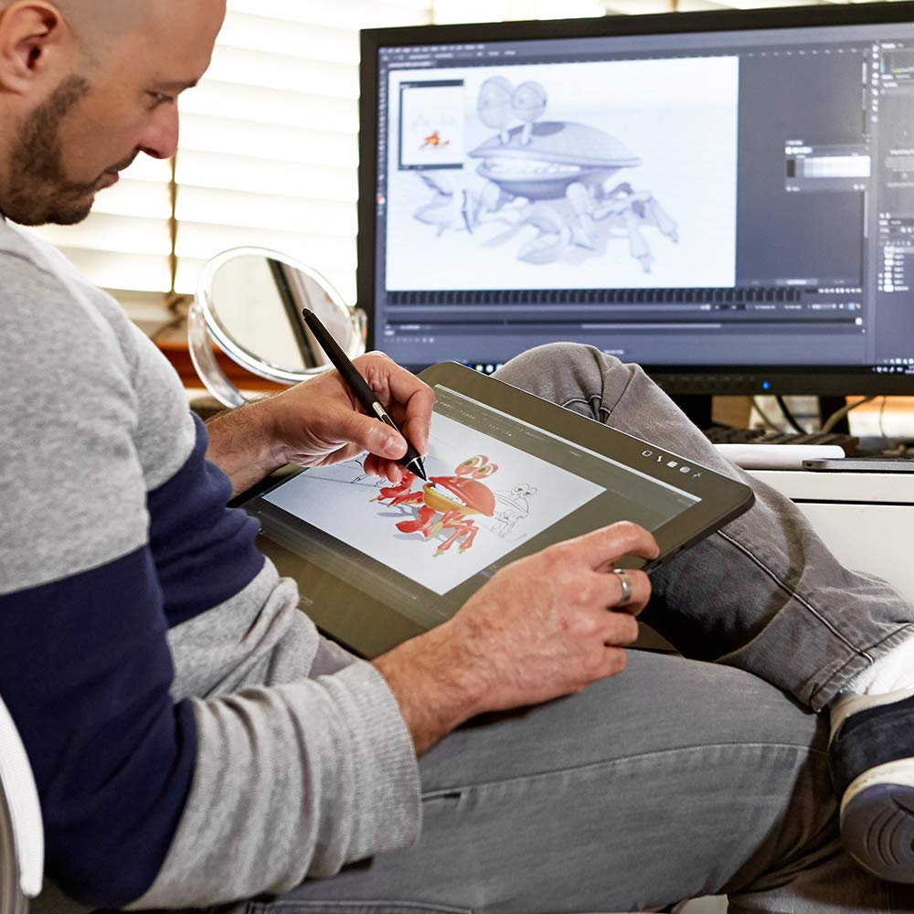 Wacom DTH1620AK0 Cintiq Pro 16'' Graphic Tablet with Link Plus by Wacom (Image #2)