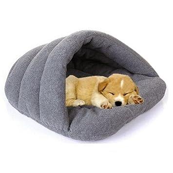 MFEIR Hundebett Katzenbett Baumwolle Pet Bett Kissen Für Hunde Katzen  Kleintiere Grün Klein