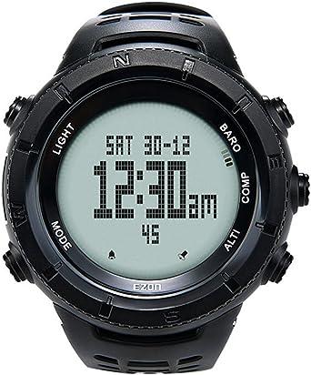 Reloj de Pulsera Multifuncional para Hombre, Reloj Deportivo, Digital, altímetro, barómetro, brújula, termómetro, Escalada