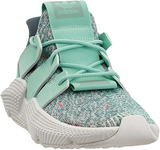 Adidas Prophere - Zapatillas para Mujer, Color Verde Menta/Rojo, Clear  Mint/Solar Red