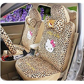 hello kitty sanrio waving auto car truck suv accessories interior combo kit gift set. Black Bedroom Furniture Sets. Home Design Ideas