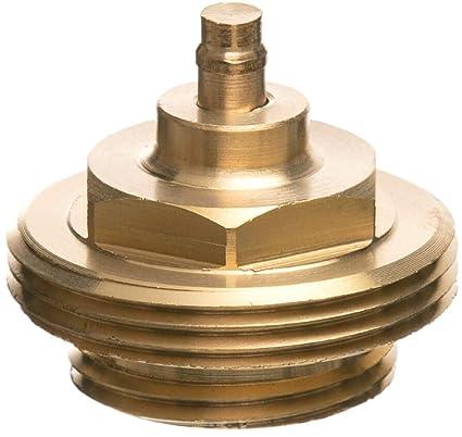 eurot Electronic 700 100 0123 metal adaptador para radiadores electrónicos termostatos, metal