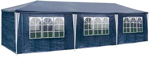 MCTECH® 3 x 9 m Azul Jardín Carpa Tienda de campaña Tienda de ...