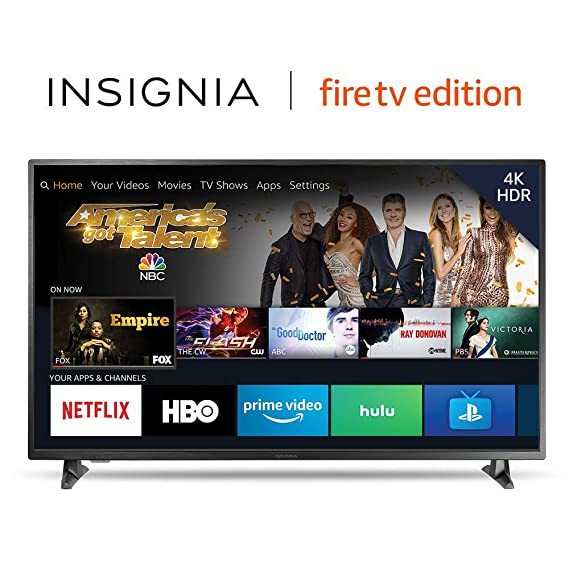 Amazon Com Insignia Ns 55df710na19 K Ultra Hd Smart Led Tv With Hdr Fire Tv Edition Electronics