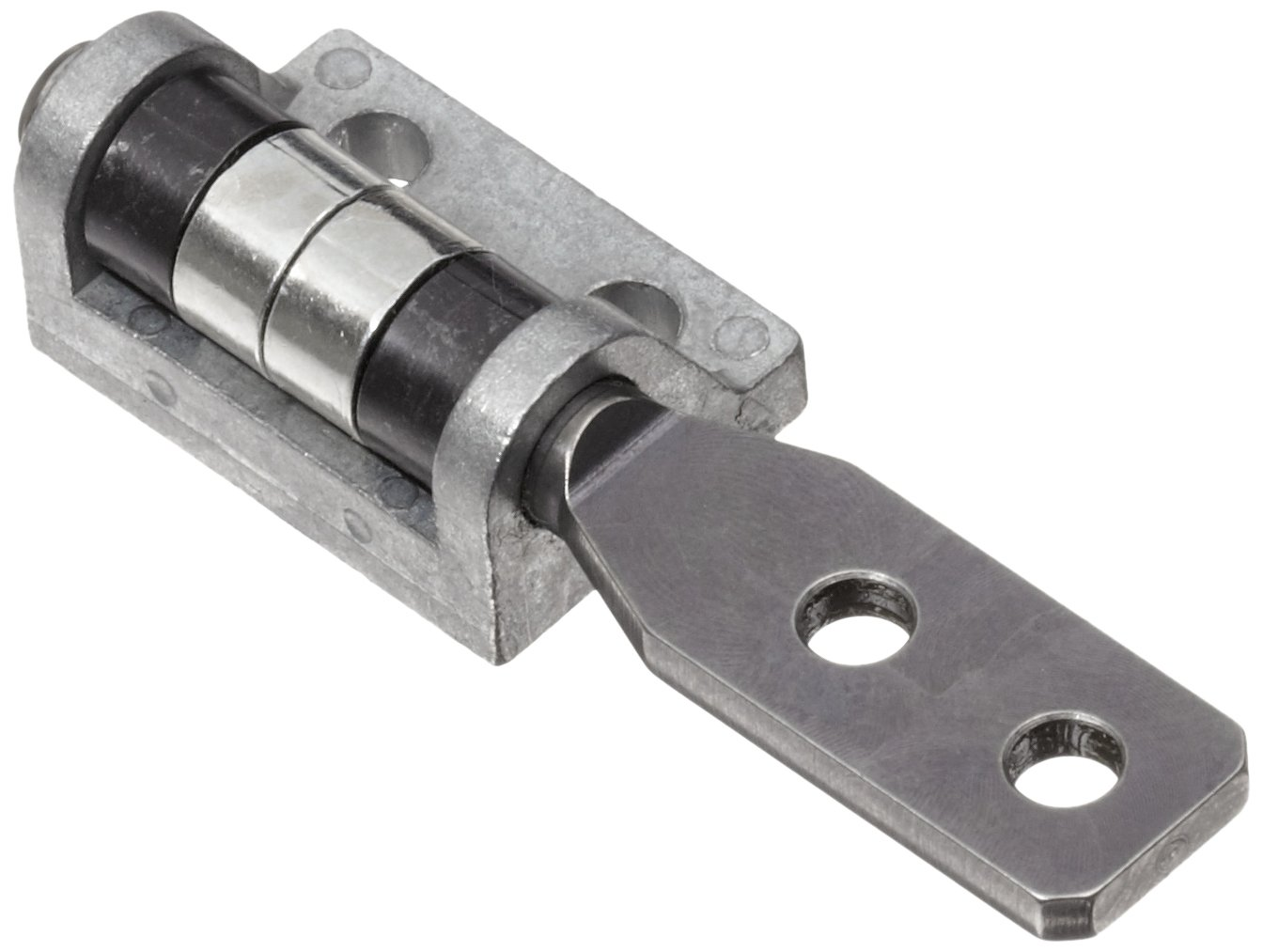 TorqMaster Friction Hinge with Holes, 1-23/32'' Leaf Height, 5 lbs/in Torque, Left Hand (Pack of 1)