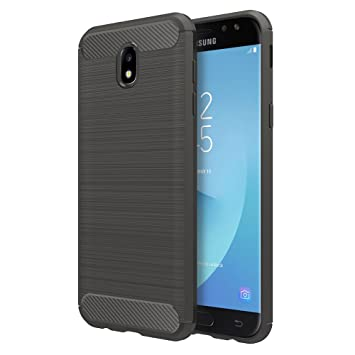 Simpeak Funda Compatible Samsung Galaxy J7 2017 (5,5 Pulgadas), Funda Galaxy J7 2017 Carcasa Samsung Galaxy J7 2017 Gel Silicona Premium TPU Case, ...