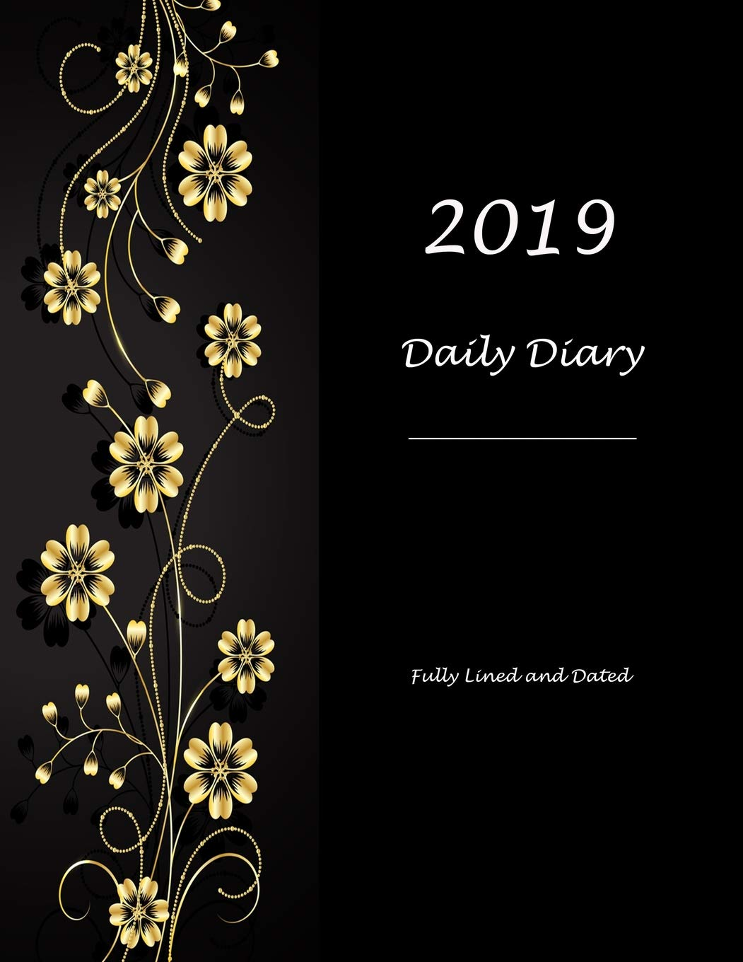 Amazon.com: 2019 Daily Diary: Fully Lined and Dated ...