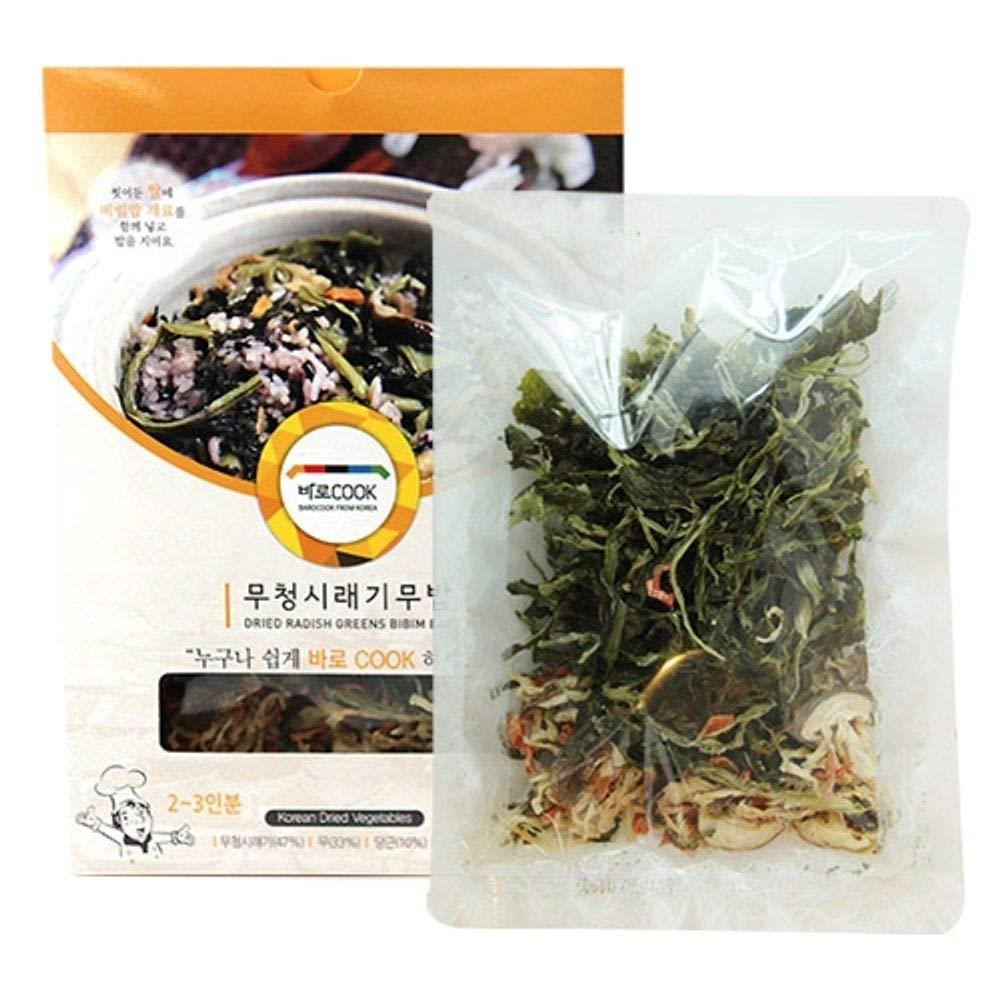 Dried Radish Leaf for Bibimbap 30g x 5 packs 무청시래기무밥
