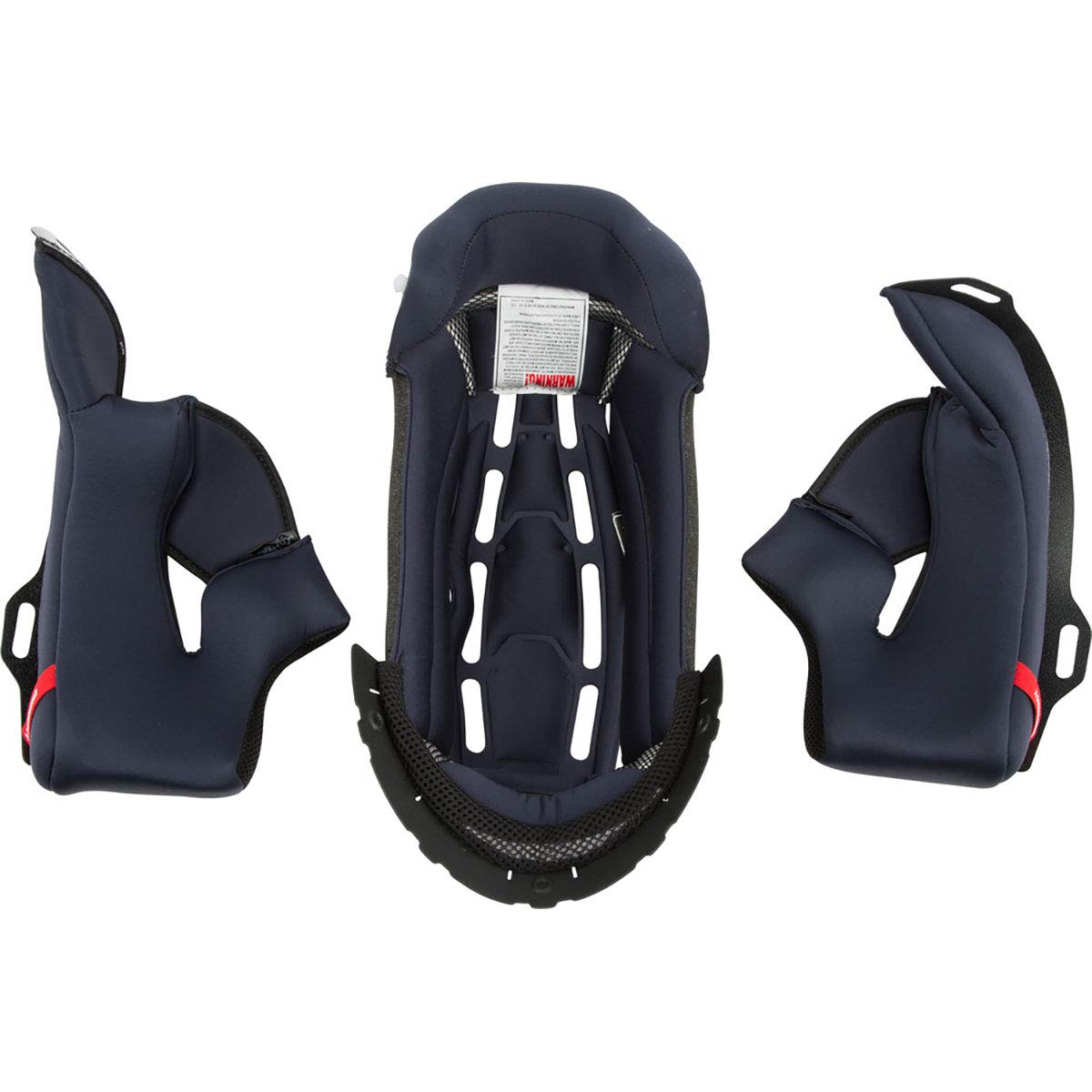 Scorpion Kwikwick EXO-T1200 Liner Street Motorcycle Helmet Accessories - Black/X-Small by Scorpion