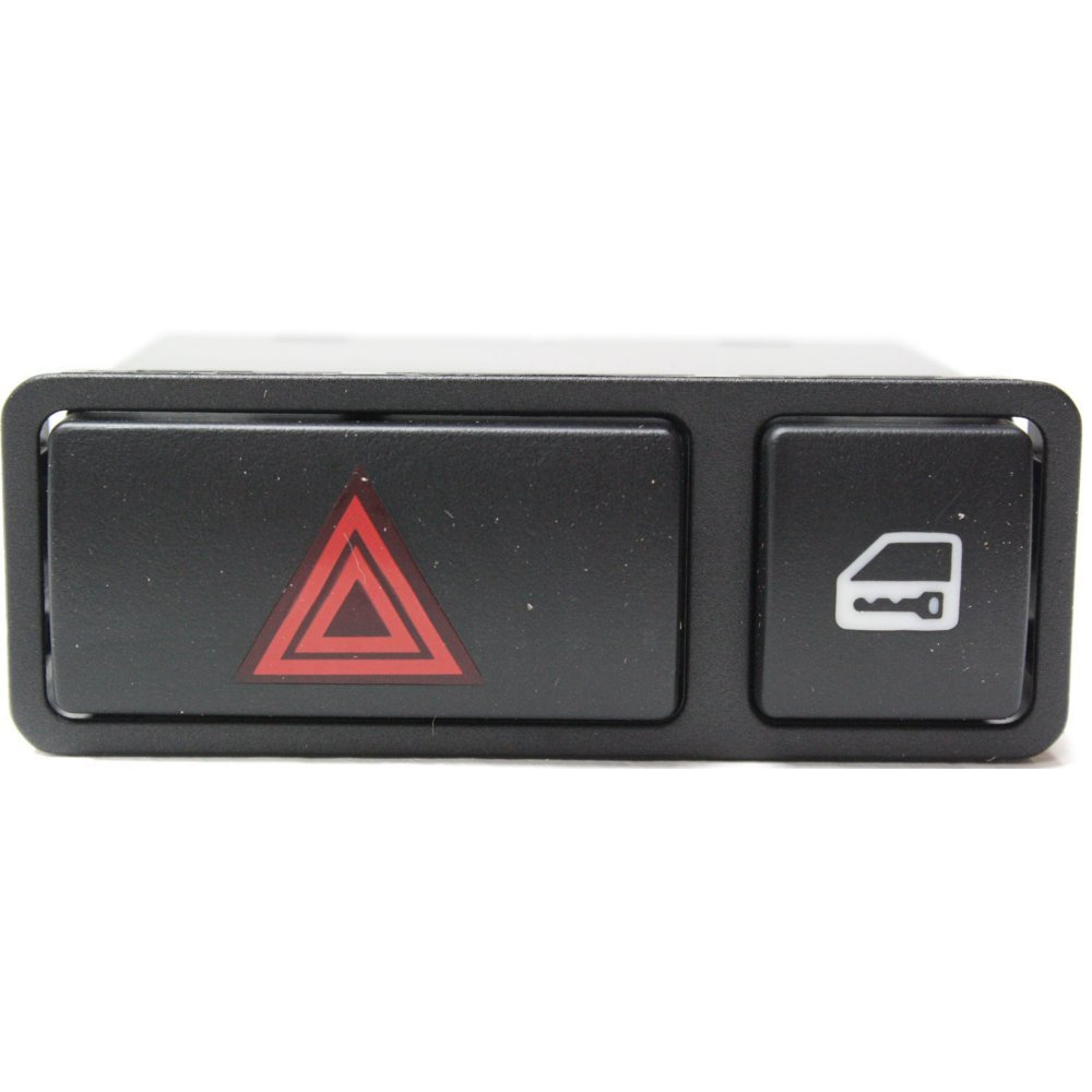 Hazard Flasher Switch for BMW 3-Series 99-08 W/Central Lock Switch Evan-Fischer