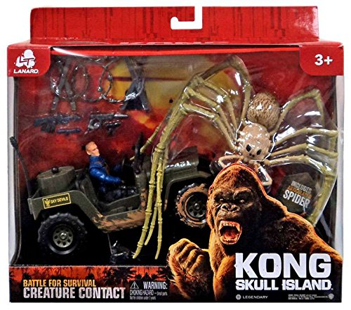Kong Skull Island Battle For Survival Creature Contact Spider