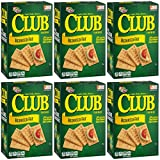 Keebler Club Snack Crackers (Original-Reeduced Fat, Pack of 6)