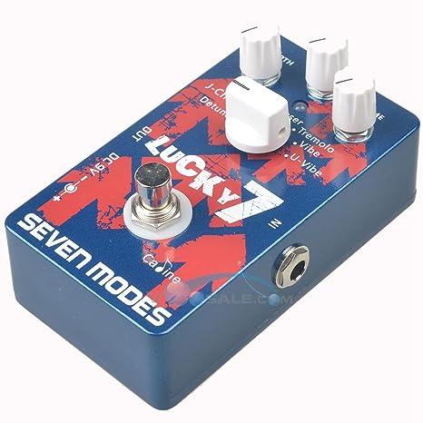 CP-38 Pedal de efectos de guitarra eléctrica, 7 accesorios de ...