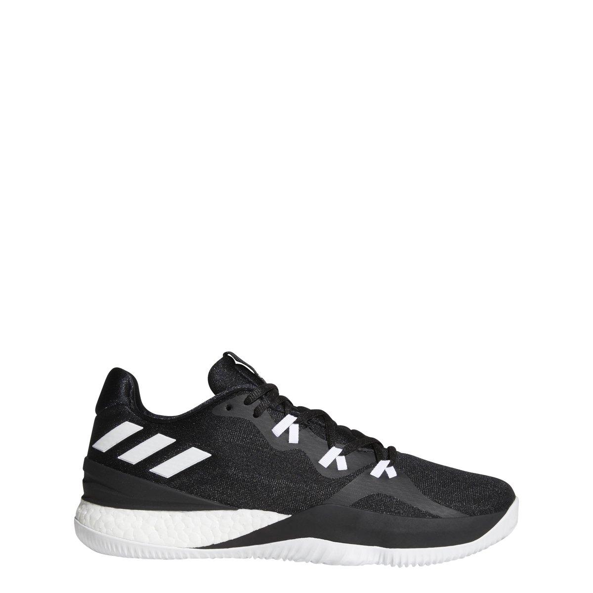 adidas Crazy Light Boost 2018 Shoe Men's Basketball B07BHL6SBS 18 M EU|Core Black-white-carbon