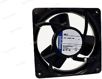 Ayazscmbs Compatible para EBM PAPST 4800X AXIAL Ventilador ...