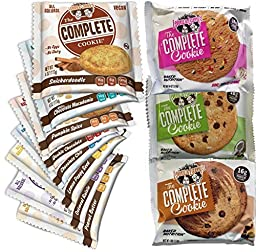 Lenny & Larry\'s 11 Cookie Variety with New Flavors (One of Each Cookie)
