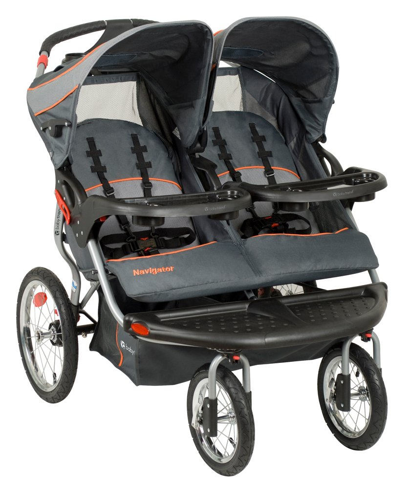 Baby Trend Navigator Double Jogger Stroller, Vanguard by Baby Trend