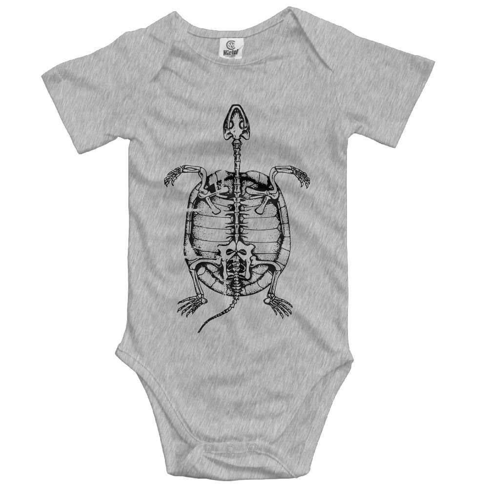 Small Turtle Baby Short-Sleeve Onesies Bodysuit Baby Outfits
