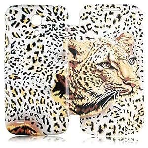 TOPAA Leopard Print Pattern Full Body Case for Samsung Galaxy S4 Mini I9190