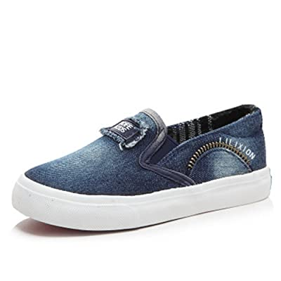 2018 Spring Children Casual Shoes Boys Girls Sport Shoes Boys Sneakers  Denim Kids Shoes Girl Child Flat Canvas Shoes(0 0046455a7e4