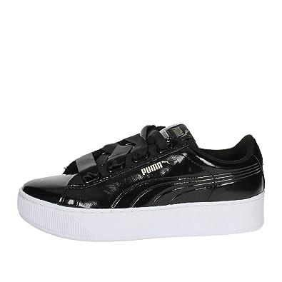 Puma Women s Vikky Platform Ribbon P Low-Top Sneakers  Amazon.co.uk  Shoes    Bags c783466d7