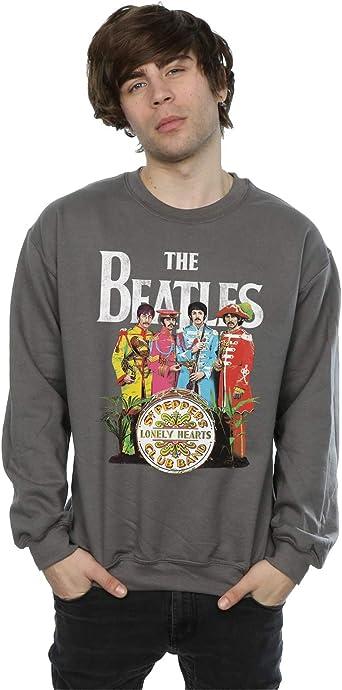 The Beatles Hombre SGT Pepper Camisa De Entrenamiento