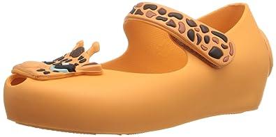 d579bc144 Mini Melissa Ultragirl IV BB Mary Jane Shoe (Toddler), Neon Orange S,