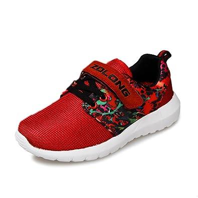 Qianliuk Kids Sneakers Boys Running Shoes Leicht Atmungsaktive Trainer für Outdoor-Sport eXIKuBST
