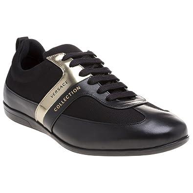 Collection Versace Formal Homme Baskets Mode Noir lJcF1TK3