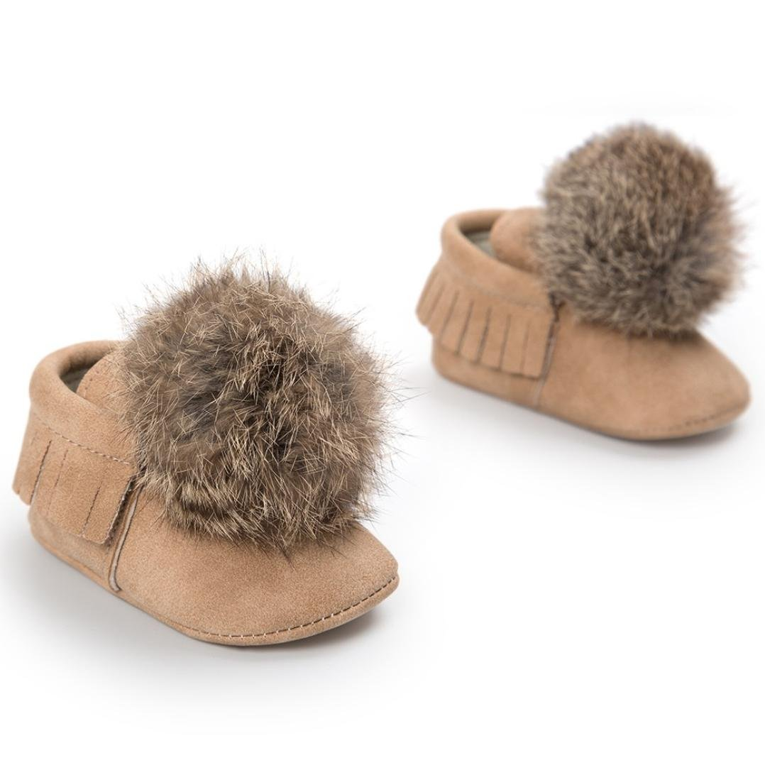 Voberry Baby Crib Tassels Bandage Soft Sole Shoes Toddler Sneakers Casual Shoes