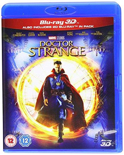 Doctor Strange  Blu Ray   3D