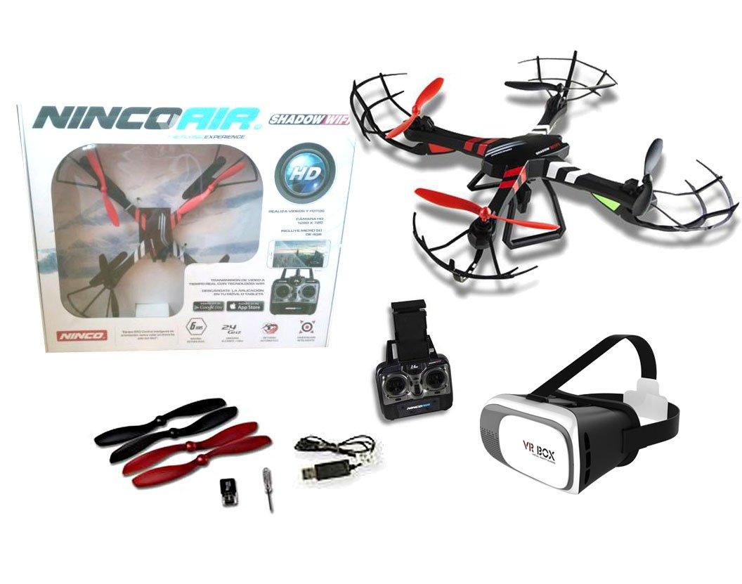 Drone radiocontrol con cámara modelo Quadrone Shadow WIFI FPV+ ...