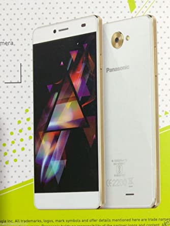 Panasonic Volte Smartphone P71 ( 2GB + 16GB + 5 inch IPS Display + 8MP ), Ivory Gold Smartphones at amazon