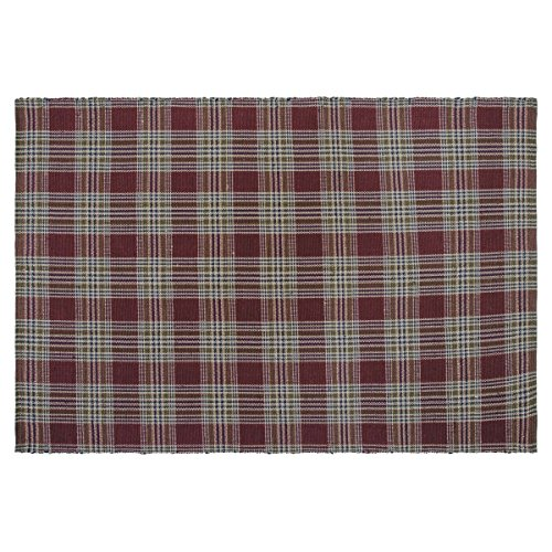 Cheap VHC Rustic & Lodge Flooring – Jackson Wool & Cotton Rug, 6′ x 9′