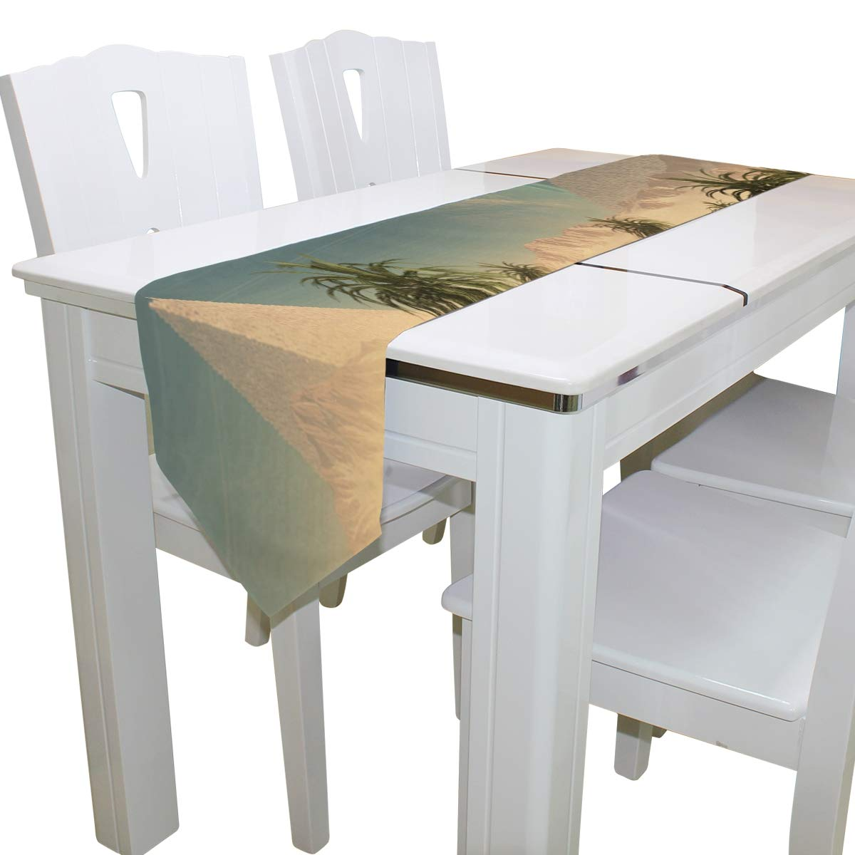 Awe Inspiring Amazon Com Dining Table Runner Or Dresser Scarf Fantasy Ocoug Best Dining Table And Chair Ideas Images Ocougorg
