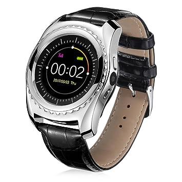 ... {Frecuencia Cardíaca - Tensiómetro digital reloj de pulsera} {Ranura muñeca impermeable Smart Watch} {Bluetooth Smart Watch}: Amazon.es: Electrónica