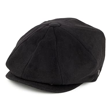 c8e65aac1 Jaxon & James Harlem Newsboy Cap - Black - 100% Wool