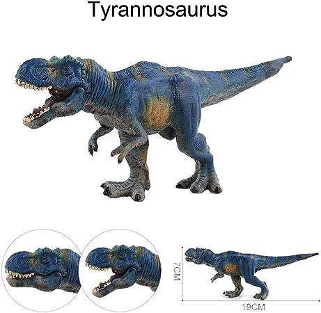 Blue Velociraptor Jurassic 2 Dinosaur Simulation Model Plastic Kids Toy Gift