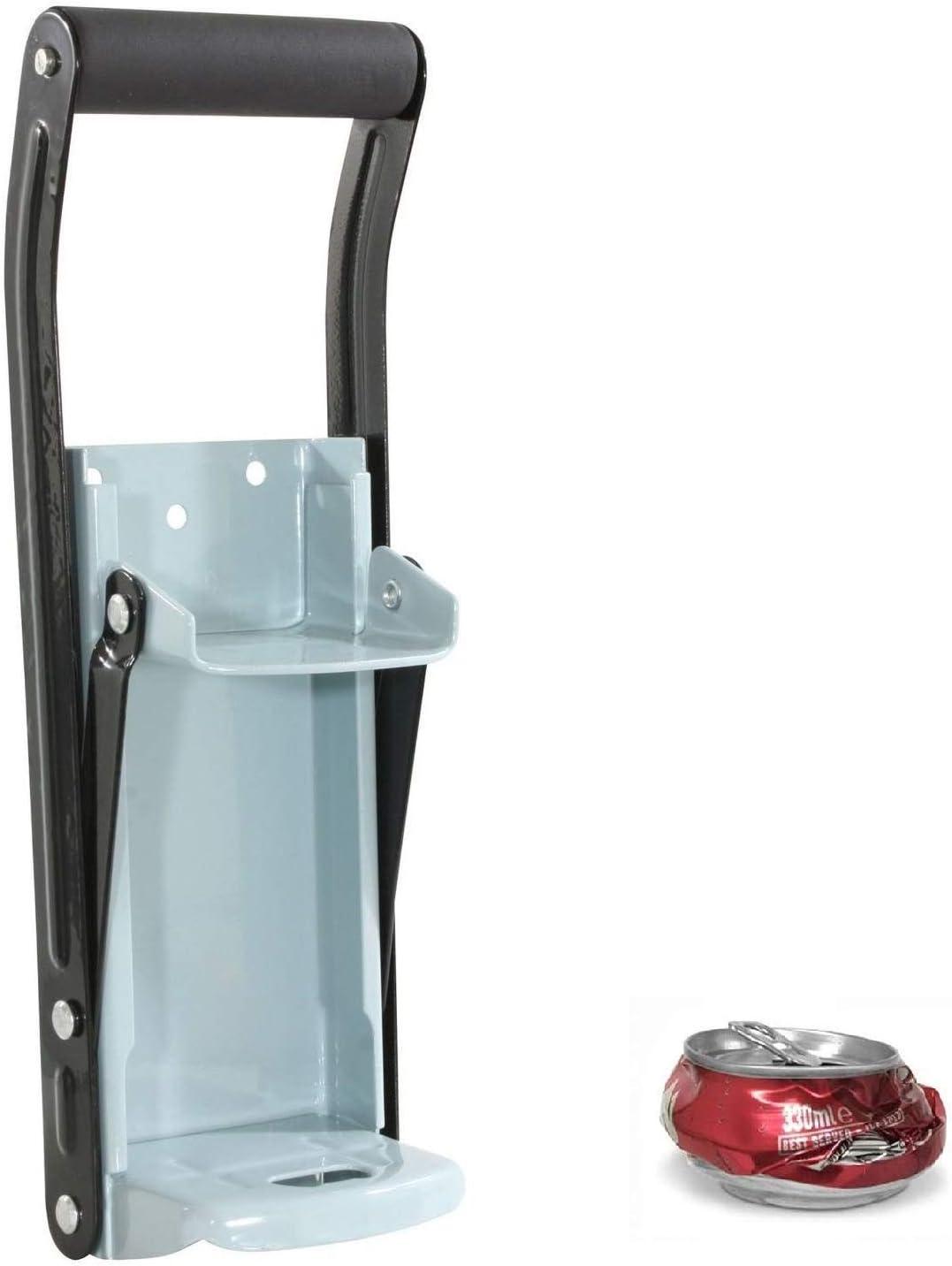 Reciclaje Triturador de latas de soda cerveza para latas de bebida / Aplastador de latas (16 onzas de hasta 500 ml)