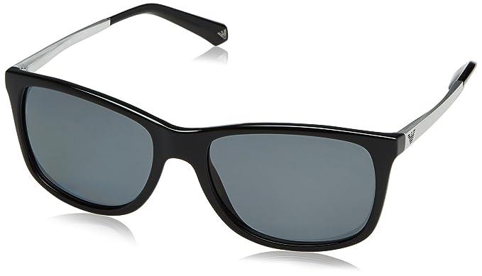 Emporio Armani EA4023, Gafas de Sol Unisex-Adulto, Black 501781, 57