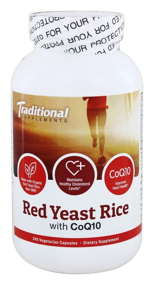 Traditional Supplements Red Yeast Rice with CoQ10